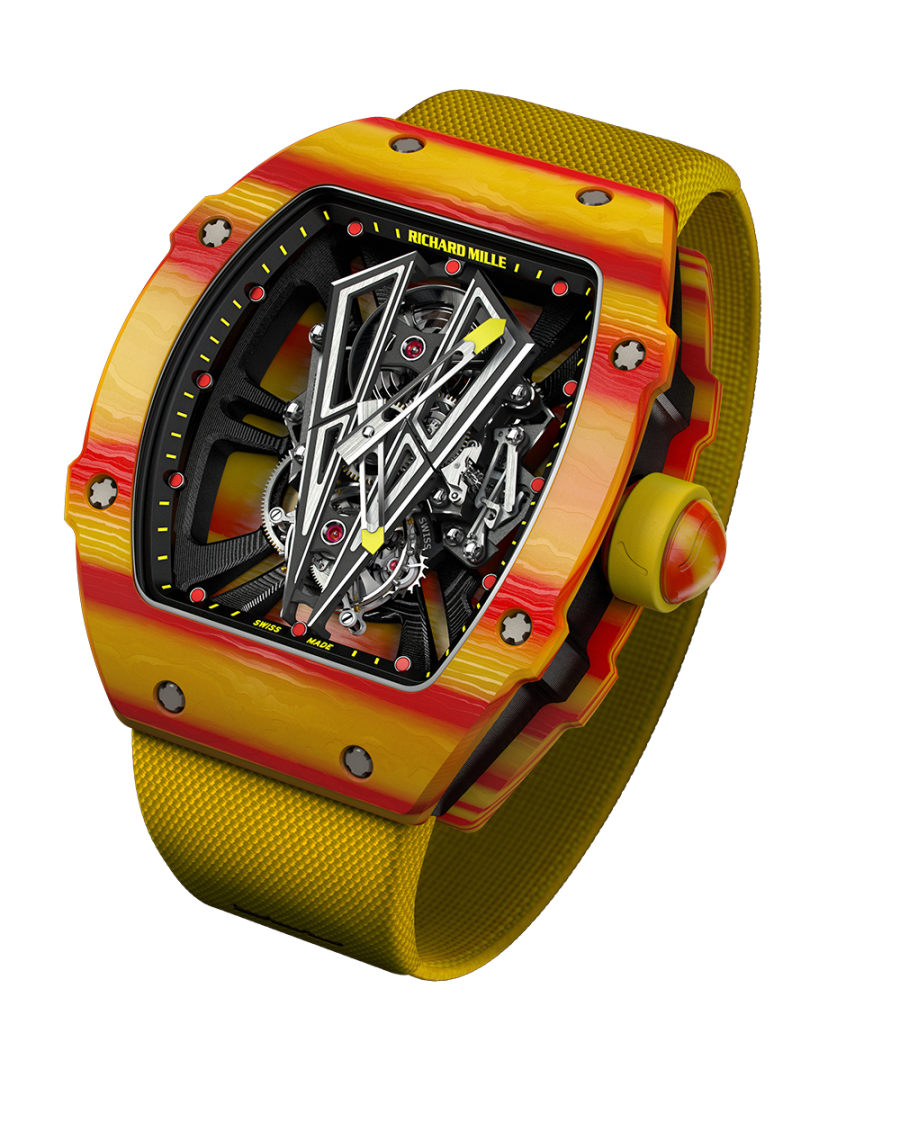 Rm 27 03 Richard Mille Manual Winding Tourbillon Rafael Nadal