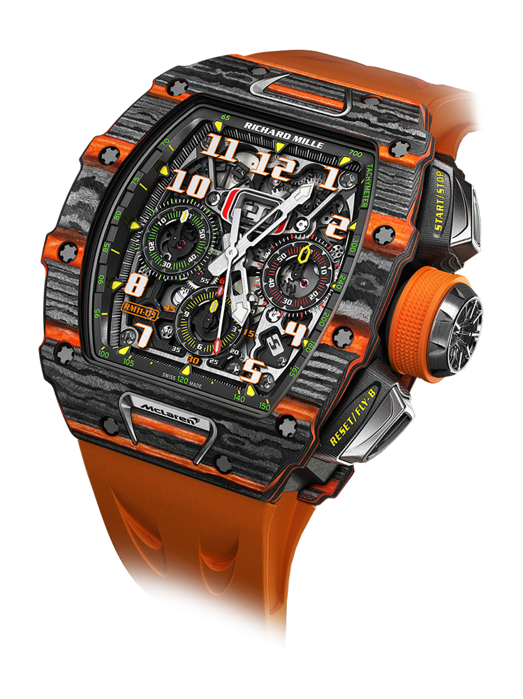 RM 11-03 ⋅ RICHARD MILLE | Automatic Winding Flyback Chronograph McLaren