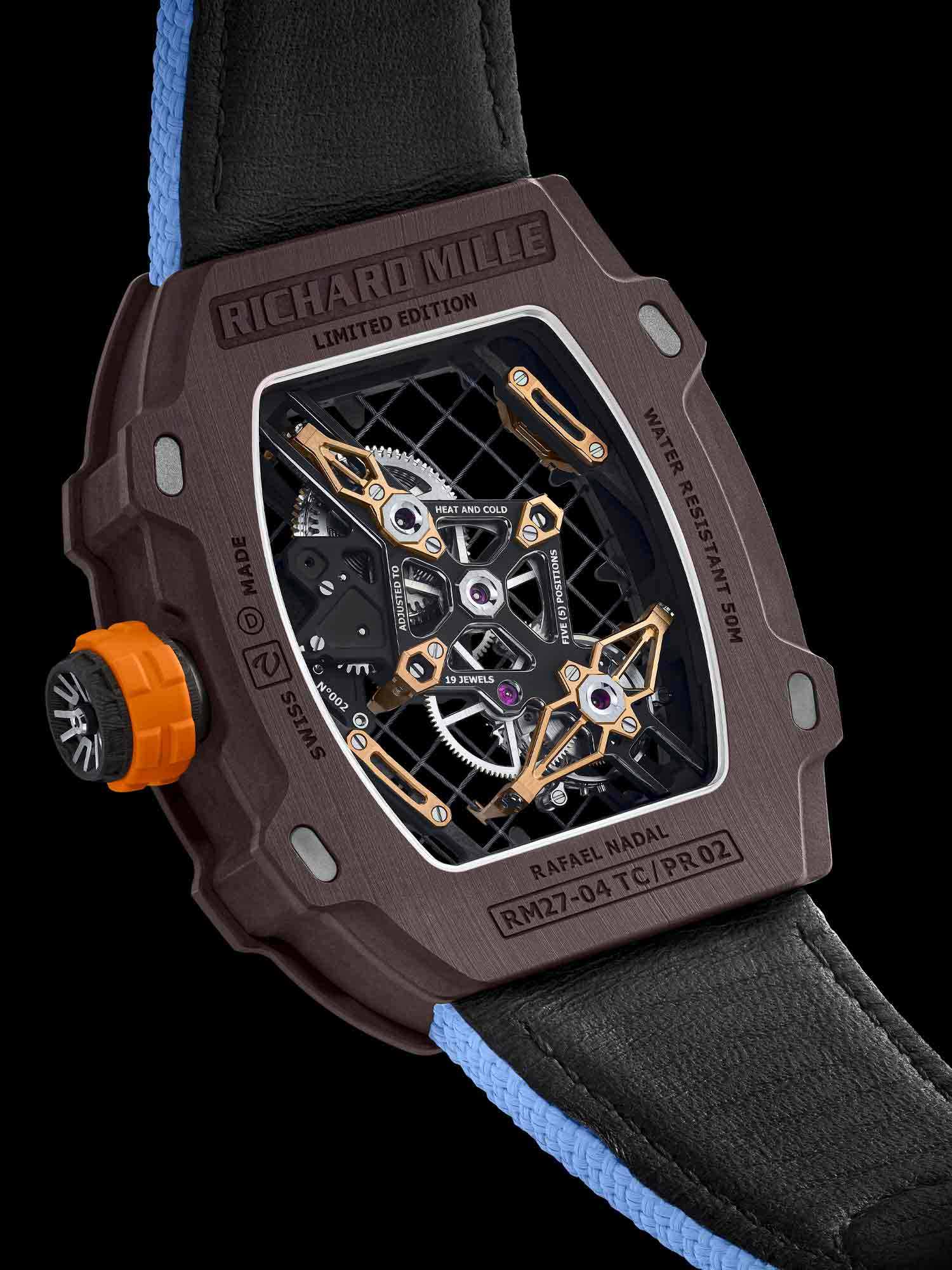 Rm 27 04 Richard Mille Manual Winding Tourbillon Rafael Nadal